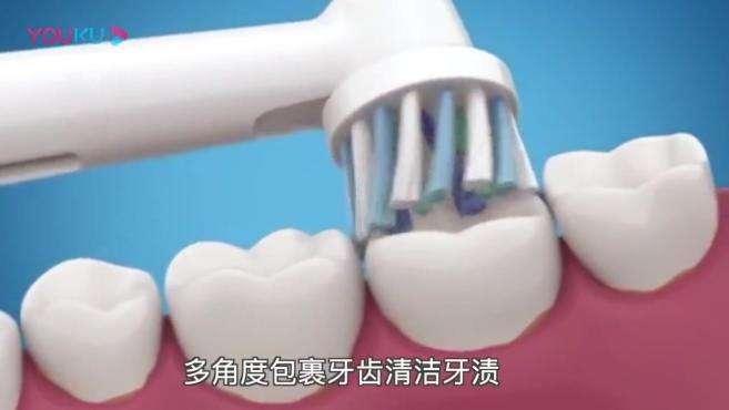 君晓天云德国博朗OralB欧乐B成人电动牙刷刷头EB50-8+2多角度清洁替换头通用
