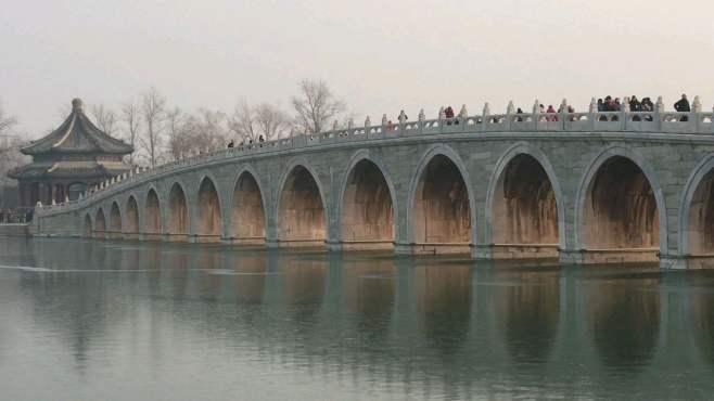 颐和园:十七孔桥·金光穿洞