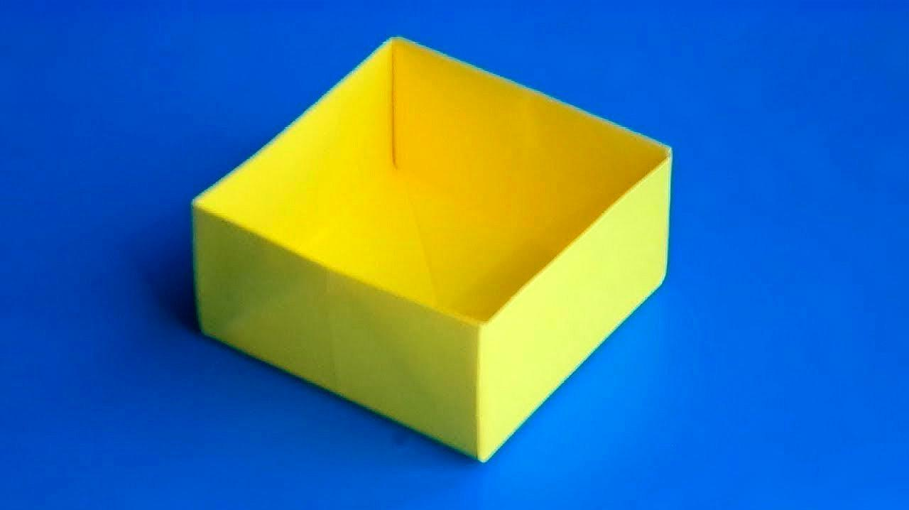 折纸盒子怎么折